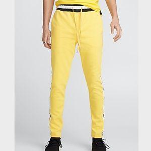 Sixth June Paris yellow men's track pants  NWT